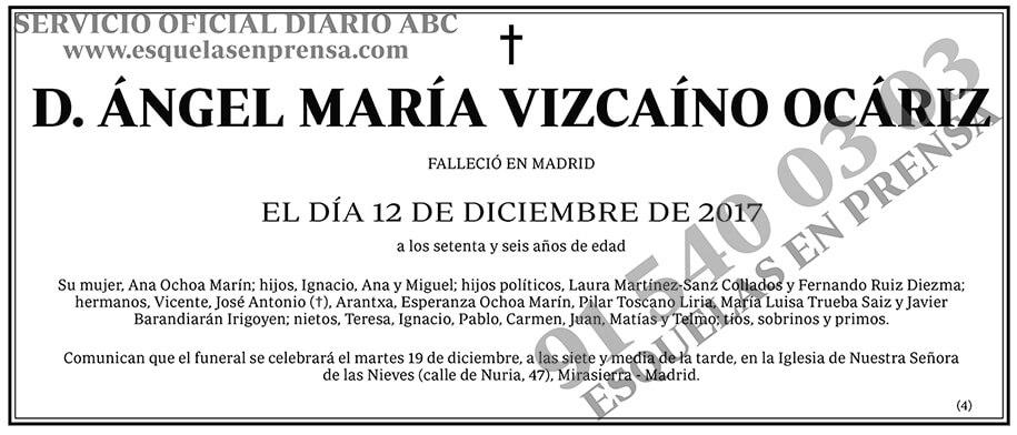 Ángel María Vizcaíno Ocáriz